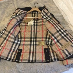 Burberry Jackets & Coats - NWT Burberry Kencott Quilted Jacket Black Small